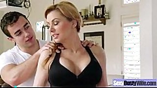 Hot mature sexually slutty Married bitch (sasha sean) with big round tit...