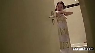Brother caught stepsister in baths and entice to...