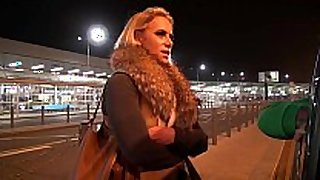 Big titty milf airport pick up and fuck hard in...