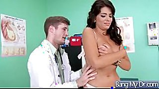 Hard sex in doctor office with sexually excited patient vi...