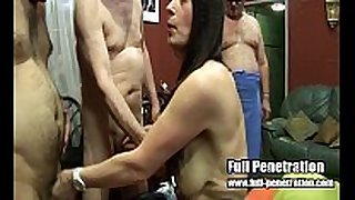 Lexie - team fuck action from a british sex club