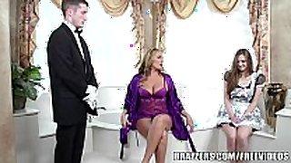 Brazzers - sexy baths threesome