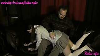 Deren asks daddy to spank her trailer