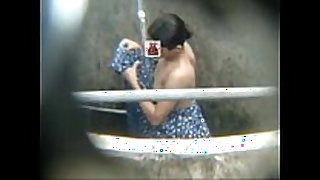 Hott concupiscent Married slut bathing outdoor captured from moblile