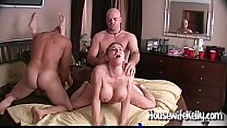 Wife swapping with two swinging couples
