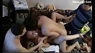Guys group sex enjoyment