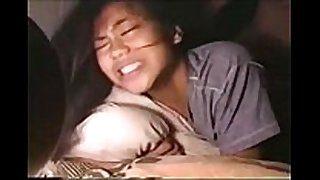 Young asain legal age teenager does heir 1st anal