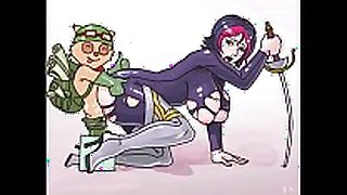 Lol manga - teemo bonks everybody!