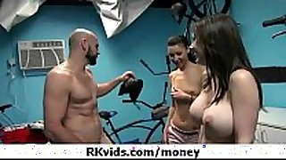 Gorgeous legal age teenagers getting drilled for money 43