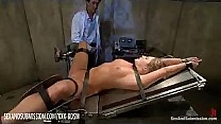 Humble blond acquires anal and facial treatment