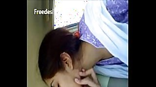 Shareefa cute desi sexually excited BBC doxy kiss in car with paramour