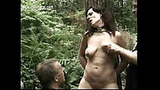 Milf slave overspread in candlewax acquires it spanked...