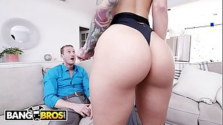 Bangbros - sexy chaperone katrina dig out shows will not hear of irregular client ryan mclane this point length of existence
