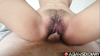 Oriental sexual congress appointment book - juvenile filipina cutie receives their way puristic bawdy cleft fucked