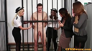 British testimony dominas pulverize sub in apartment
