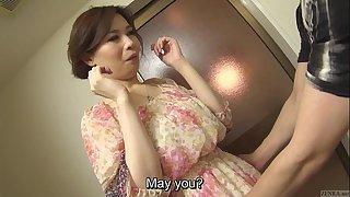 Brimming concupiscent japanese yuko iijima bare subtitled