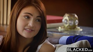 Blacked First interracial be expeditious for stunner adria rae