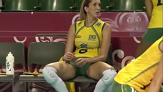 Thaisa menezes jaqueline comely brazilian volleyball cast aside