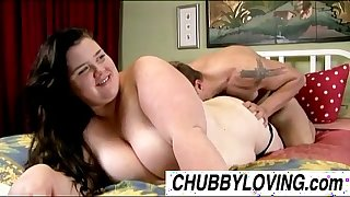 Big charming dark brown bbw linda can't live without to eat cum