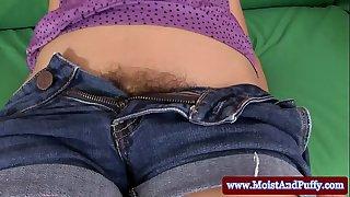 Hairy moist cherry women obscene peeing