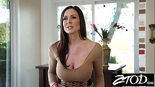 Kendra longing is a large wazoo milf who likes large dong