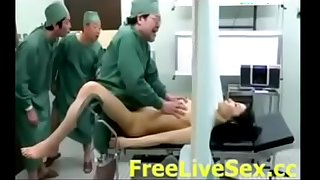 Doctors Gangbang Fuck Anyway a lest in Operation Room