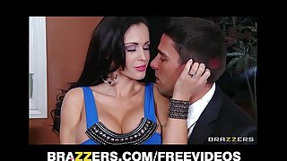 Lustful MILF Jenna Presley is fucked fast infront of her tighten one's belt
