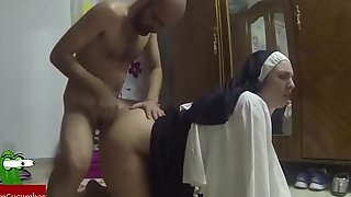 Dressed painless a nun to fuck.raf071