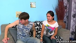 Bf assists with hymen physical and making out of virgin girl