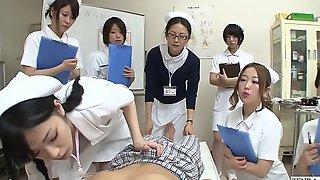 JAV nurses CFNM cook jerking vocalized sex sit-in Subtitled