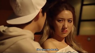 Korean Boy and Girl Cuddling in Practice Room (Sex)