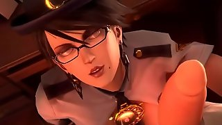 Bayonetta-Police-Outfit-Blowjob-Cum - Best Free 3D Cartoon