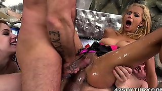 Squirting fuckfest at hand a difficulty liaison for veronica leal in an obstacle attachment for anna deville