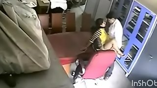 Teacher caught doing sex and punished