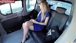 LETSDOEIT - Czech Babe Seduced and Fucked Hardcore in Uber