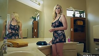 Isolated strike - julia ann is pounded hard by a chubby dick, chubby loot & chubby tits
