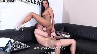 Mea Melone is Getting a Trollop Cock Shaking During the Amateur Audition