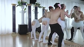 Teen student anal party plus russian home amateur orgy Ballerinas
