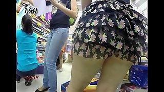 Candid Booty Rabuda Bunduda Bucetona Butt Voyeur Culona Pawg BBW 151-160